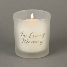 """kaars  """"In Loving Memory"""""""