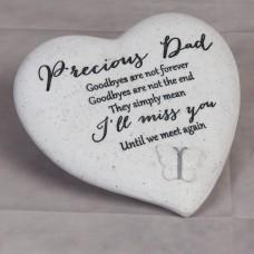 """Herdenkings steen """"Precious Dad"""""""