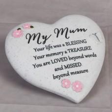 """Herdenkings steen """"My Mum"""""""