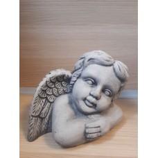 Engel met één vleugel Grijs