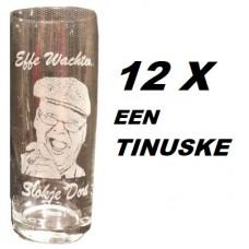 Opa Tinus bierglas 12X  ( TINUSKE )